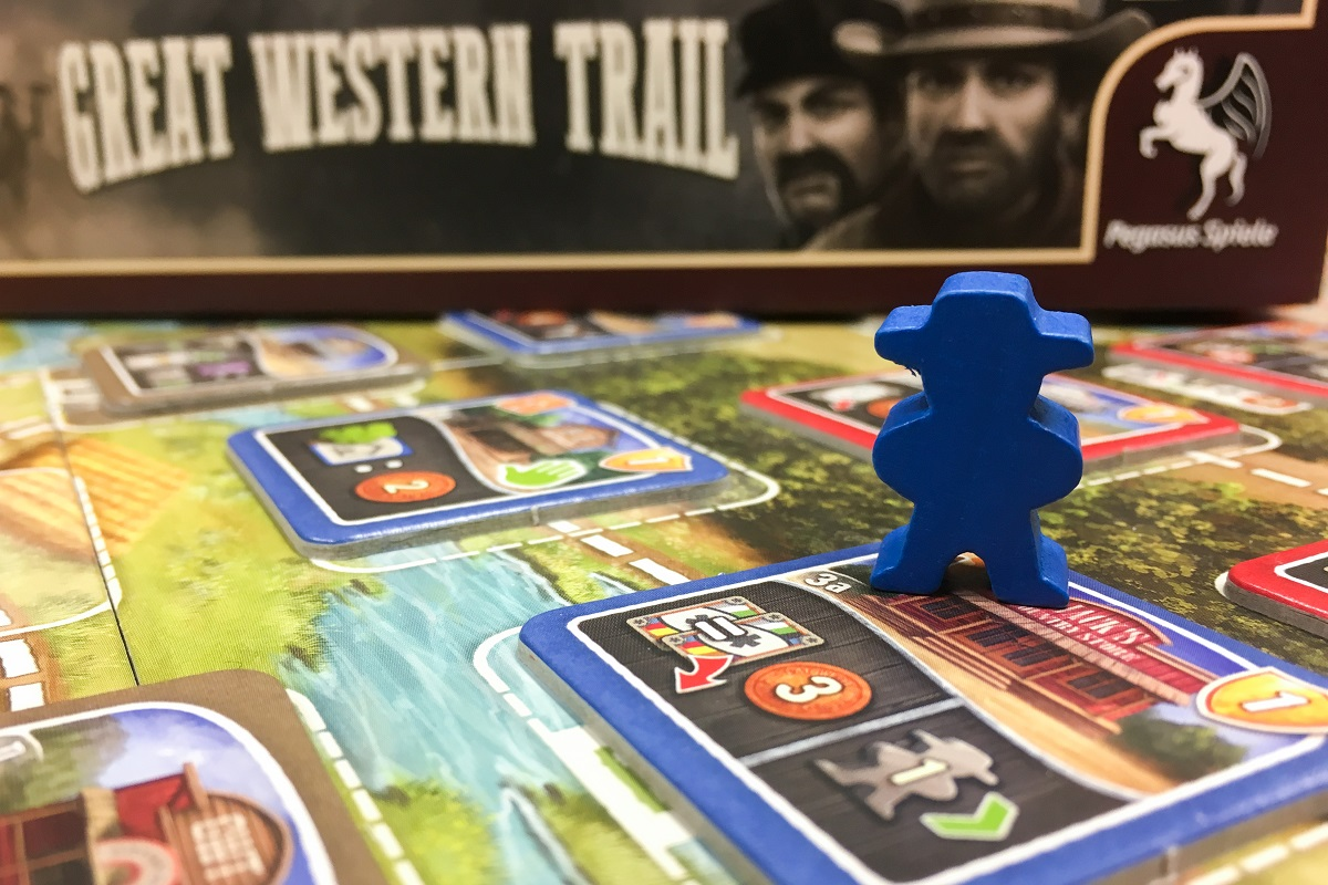 Brettspiel: Great Western Trail